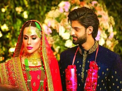 اداکار سعد قریشی میشا چوہدری کے ساتھ رشتہ ازدواج میں منسلک